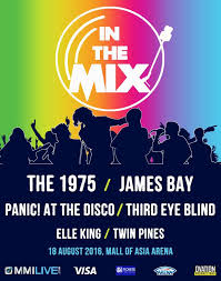 Third Eye Blind 2014 Tour In The Mix The 1975 Third Eye Blind Panic At The Disco James