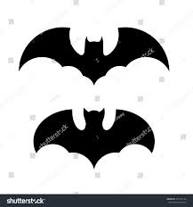 vector halloween halloween bat icon set vector stock vector 317142194 shutterstock