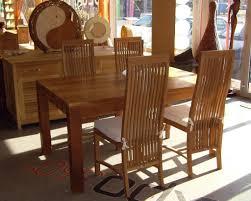 Teak Dining Room Set by Teak Wood Dining Room Table U0026 Chairs Set Tdt 1801 U2013 Timbercraft