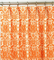 Pattern Drapes Curtains Extraordinary Orange Kitchen Curtains Drapes O Decorate Modern