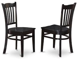 Dining Chairs Amazon Com East West Furniture Grc Whi W Dining Chair Set With