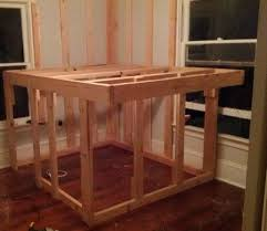 Elevated Bed Frames Diy Elevated Bed Frame With Storage Area Removeandreplace
