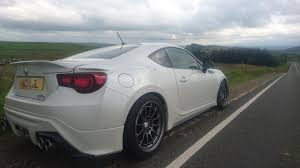 subaru brz ducktail spoiler 2013 gt86 trd tastefully modified reduced to 19k for sale