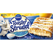 Toaster Strudle Pillsbury Toaster Strudel Danish Style Cream Cheese Toaster