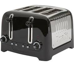 Dualit Sandwich Toaster Buy Dualit Dpp4 4 Slice Lite Toaster Black At Argos Co Uk Your