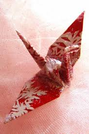 bird ornament peace crane wedding cake topper favor