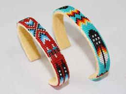 bangle beaded bracelet images Navajo indian beaded bracelet native american jewelry indian jpeg