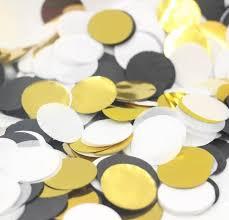 gold polka dot tissue paper 56g bag classic black white gold glitter polka dot tissue paper