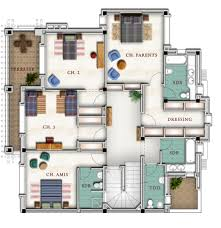 villa plans beautiful plan villa de luxe contemporary payn us payn us
