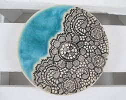 ceramic platter ceramic plate etsy