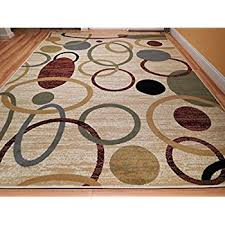 Area Rugs With Circles Amazon Com New Home 8x11 Floral Area Rugs Contemporary Rugs 8x10