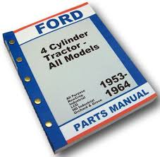 amazon com ford 2000 4000 tractor master parts manual catalog