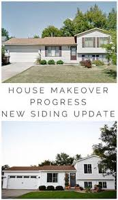 Split Level Front Porch Designs Split Level Renovation Remodel Curb Appeal Front Porch Paint