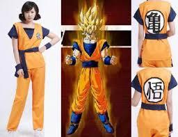 Dragon Ball Halloween Costumes Goku Costume Ebay