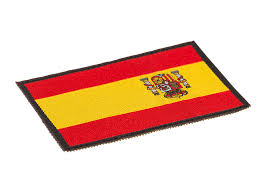 Flag Pic Spain Flag Patch Color Identifikation Equipment Clawgear Com
