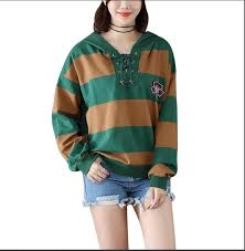 aliexpress com buy new sweatshirt spring autumn bf wide stripe