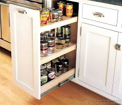 kitchen cabinet slide out trays pull out kitchen cabinet spice rack slide racks for 28 hsubili com