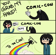 Comic Con Meme - comic con by creepypocky on deviantart