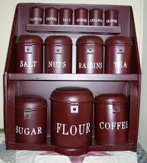 burgundy kitchen canisters 34 best canister sets images on kitchen canisters