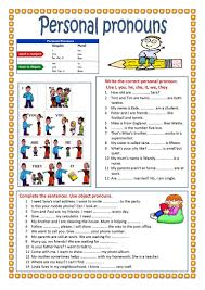 personal pronouns worksheet free esl printable worksheets made