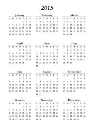 printable art calendar 2015 printable 2015 calendar on one page free loving printable