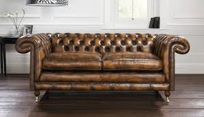 Chesterfield Sofa Brown Brown Leather Studded 3 Brown Chesterfield Sofa