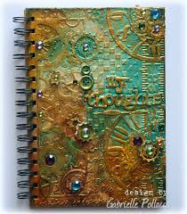 such a pretty mess video tutorial steampunk journal cover