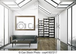clipart of creative loft library interior creative loft interior