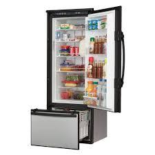 super hybrid refrigerator right door swing dometic dmh1072rb