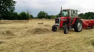 massey ferguson tractor perkins engine massey baler youtube