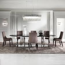 Black Oval Dining Room Table - italian black oval dining table set juliettes interiors