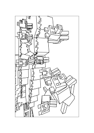 minecraft coloring pages free print coloringstar