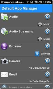 app manager for android default app manager clear set default apps for actions android