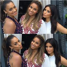 ciara celebrates baby shower with lala u0026 kim kardashian music