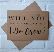 will you be my bridesmaid ideas i do crew will you be my bridesmaid card bridal cards