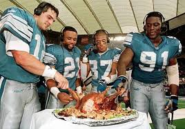 5 nfl athlete recipes for your thanksgiving day football