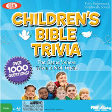 children u0027s bible trivia religious board games by ideal
