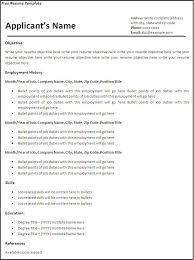 free resume template exles create resume templates 61 images resume template creator