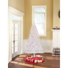 time pre lit 4 teal blue artificial tree clear