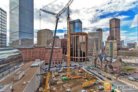 two tower cranes go up in downtown u2013 denverinfill blog