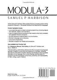 amazon black friday discussion modula 3 samuel p harbison 9780135963968 amazon com books