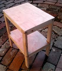 Build A Small End Table by Building With Fractions Kitchen Dilemma 5 Steps With Pictures