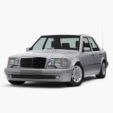 1993 Mercedes Coupe Mercedes Benz E Class W124 Coupe 3d 3ds