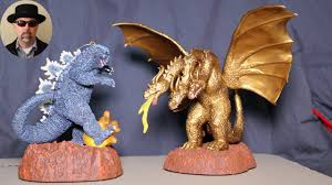 godzilla and king ghidorah ornaments 2015