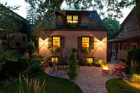 Patio Lighting Design Garden Outdoor Lighting Ideas For Your Little Paradise