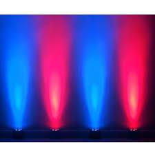 american dj led lights 4 american dj mega qa go battery and ac powered led par lights