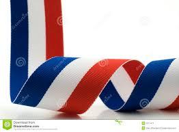 white and blue ribbon white and blue ribbon stock image image 2211471