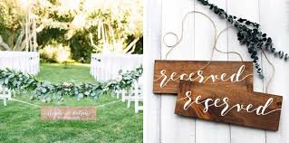 Wedding Seating Signs 20 Rustic Wood Wedding Signs Southbound Bride