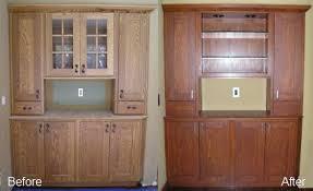Kitchen Cabinet Restaining by Kitchen Refinishing U0026 Custom Kitchen Cabinet Restoration