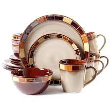 gibson casa estebana 16 dinnerware set service